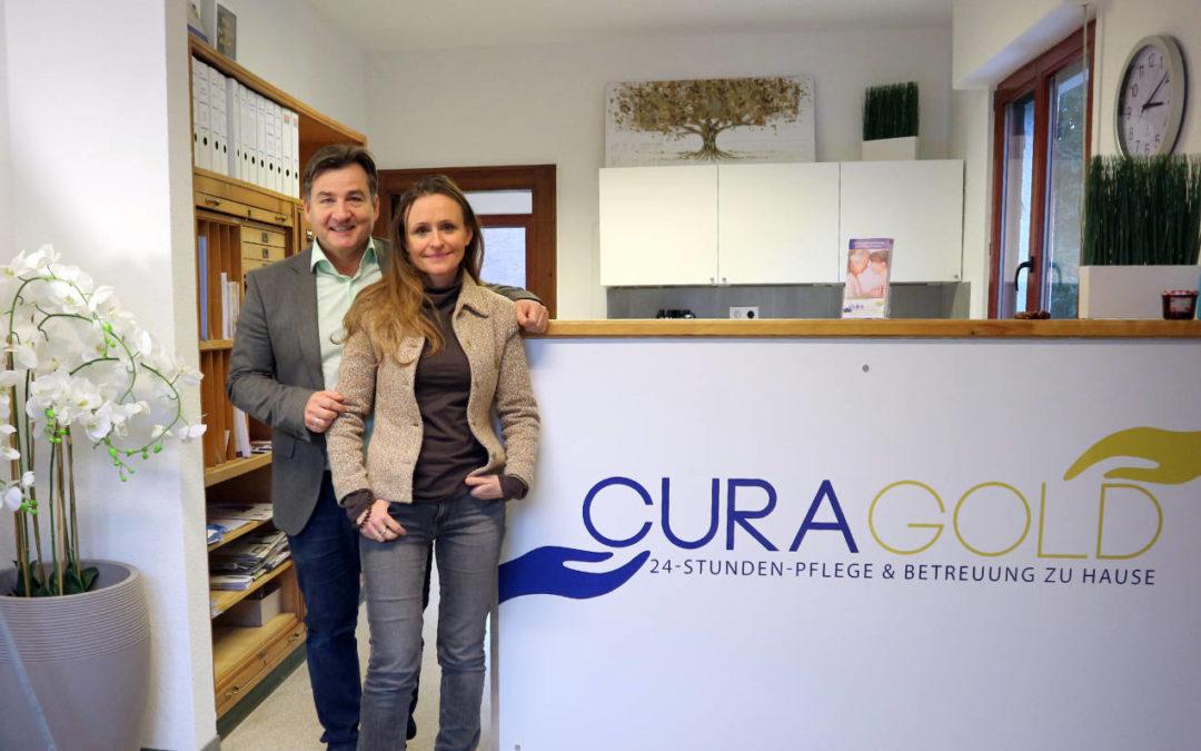 Neueröffnung CURA GOLD Büro am Krankenhaus